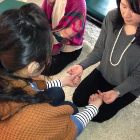 東洋医学に触れる〜指握り健康法(第5回)ワークショップの様子