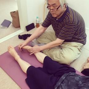 東洋医学講座vol.15~'氣を感じてみよう!'の様子